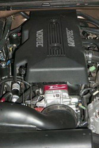 New Airaid 200-512-1 Poweraid Throttle Body Spacer Chevy GMC Silverado Sierra