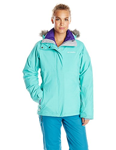 Columbia Women's Shimmerlicious Down Interchange Jacket, Oceanic, X-Large ()