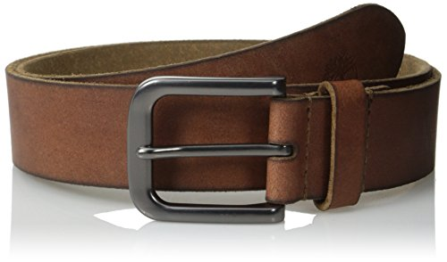Timberland Men's 35Mm Classic Jean Belt, Brown, 42 (Brown Embossed Leather Belt)