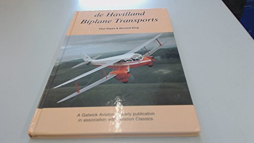 De Havilland Biplane Transports