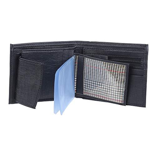 STYLER KING Synthetic Men's Wallet  Men wallet 846 2_Black