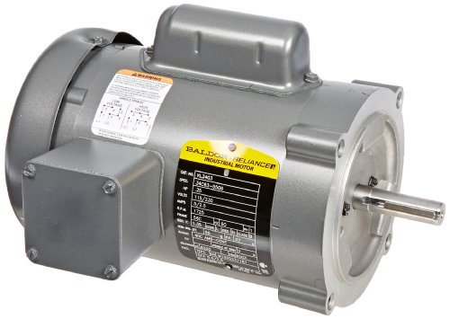 (Baldor KL3403 General Purpose AC Motor, Single Phase, 56C Frame, TEFC Enclosure, 1/4Hp Output, 1725rpm, 60Hz, 115/230V Voltage)
