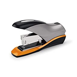 Swingline Optima 70 Reduced Effort Desktop Stapler, 70-Sheet Capacity, Jam Free, Silver, Retail Packaging (S7087870)