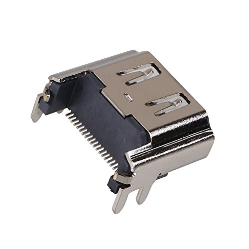 Hanbaili HDMI Port Socket Connector Part For Playstation 4 PS4 Motherboard Replacement