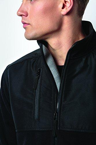 Kit Kit Kit Grigio Fleece lge Kk906 Kustom Cappotto grp grp grp grp Uomo Workwear Graphite dwaEfEXqx