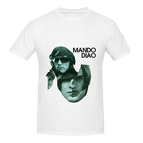 Lna Crewneck (Mando Diao Give Me Fire Tracks Men Crew Neck Diy T Shirt White)
