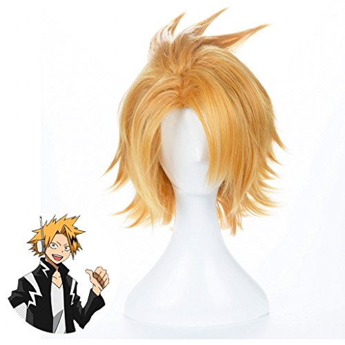 Ani·Lnc Anime Cosplay Wig Short Halloween Costume Hero