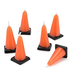 Construction Cone Molded Candles (6)
