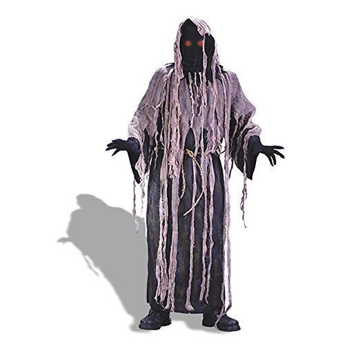 Adult Light Up Gauze Zombie Costume - One Size Fits -