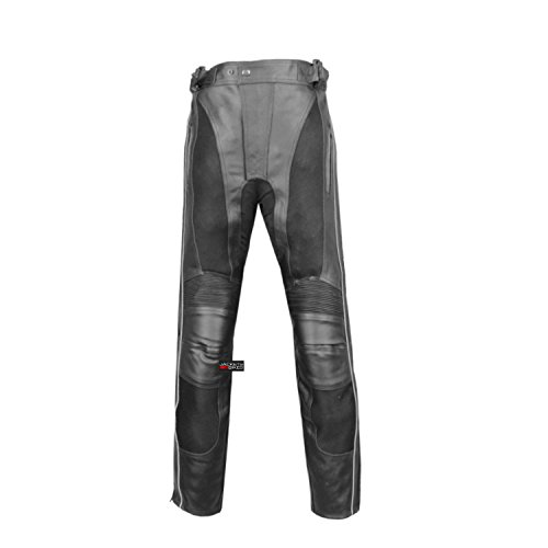 Leather Bike Pants - 5