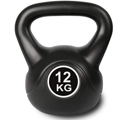 Kettlebell zwart kogelhalter voor krachttraining crossfit fitness (verkrijgbaar in 6 kg – 16 kg)