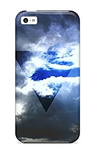 Rene Kennedy Cooper's Shop Flexible Tpu Back Case Cover For Iphone 5c - Triangle