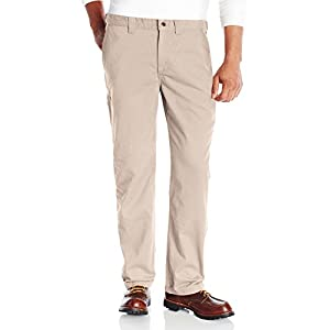 Carhartt Men's Relaxed Fit Cleaning Khaki Pant-Light-front