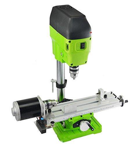 TOPCHANCES AC 220V 480W Mini Lathe Machine DIY Wood Lathe Mini Bench Drill for Wood Plastic