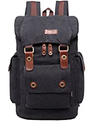 Mygreen Vintage Canvas Backpack Casual Daypacks