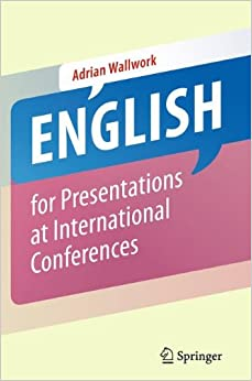 Book English for Presentations at International Conferences