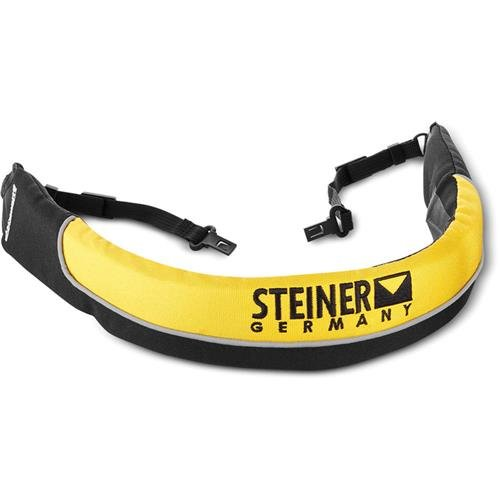 Steiner ClicLoc Floating Strap for 7x50 Navigator Pro, Commander and Commander Global Binoculars, Yellow by Steiner