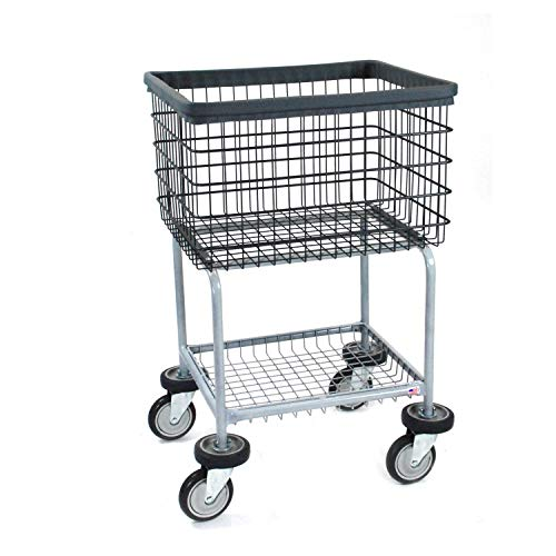 R&B Wire 300G/D7 Elevated Wire Laundry Cart, Dura-Seven Anti Rust Coating from R&B Wire Products
