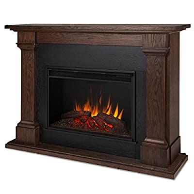Real Flame 8011E Callaway Grand Electric Fireplace, Large, Chestnut Oak