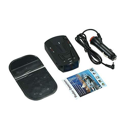 ghfcffdghrdshdfh Radar del Coche Anti-GPS Policía láser cámara Duradera 16 Banda 360 Detector de 12V CC: Amazon.es: Coche y moto