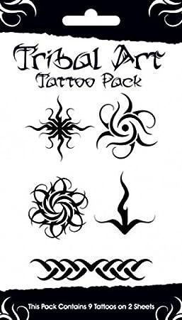 1art1 Tatuaje - Tribal, 9 Tattoos Set De Tattoos (17 x 10cm ...