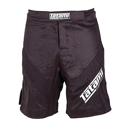 3f69d1ff5f Amazon.com: Tatami Black Dynamic Fit IBJJF Fight Shorts - 2XL ...