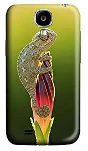 S4 Case, Samsung S4 Case, Customized Protective Samsung Galaxy S4 Hard 3D Cases - Personalized Green Animal Cover