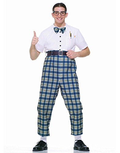 Forum Novelties Men's Fabulous 50's Class Nerd Costume, Multi, Standard -