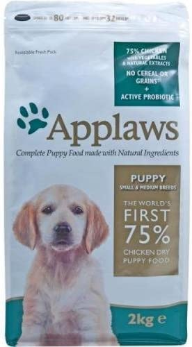 applaws Puppy Small/Medium breed Gallina 7,5kg, trockenfutter, perros Forro