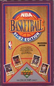 1991/92 Upper Deck Series 1 NBA Basketball HOBBY box (1991 92 Upper Deck)