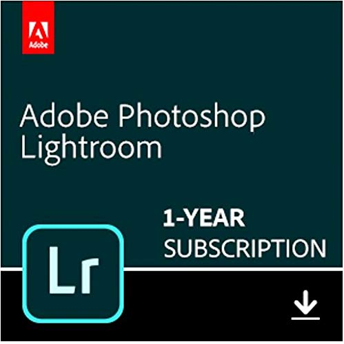 Adobe Lightroom | Photo editing and organizing software | 12-month Subscription with auto-renewal, PC/Mac by Adobe
