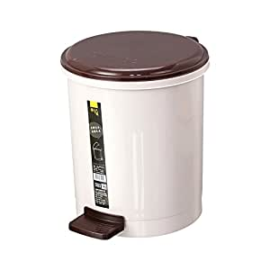 hflove pedal trash can plastic toilet trash can with lid plastic kitchen dustbin. Black Bedroom Furniture Sets. Home Design Ideas