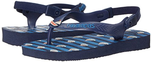 9c86d6620 Havaianas Baby Boat Sandal Flip Flop with Backstrap (Toddler) - Buy ...