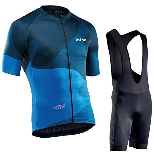 Summer Short-sleeved Overalls Cycling Suits, Bicycle Clothing Moisture Wicking, Men and Women Can Wear