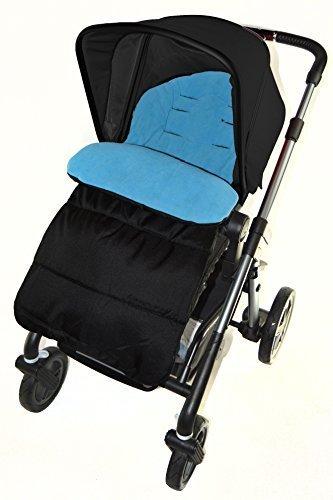 Saco/Cosy Toes Compatible con Graco Metro carrito de bebé, color azul