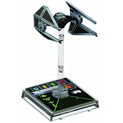 Star Wars: X-Wing - TIE Interceptor: Fantasy Flight Games: Toys & Games