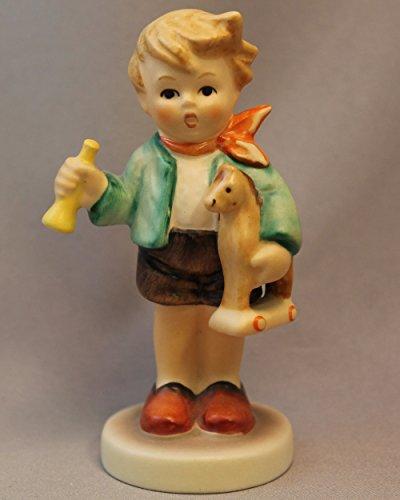 - M I Hummel Boy With Horse Figurine