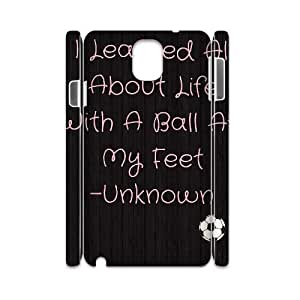 Football DIY 3D Cover Case for Samsung Galaxy Note 3 N9000 LMc-68218 at LaiMc