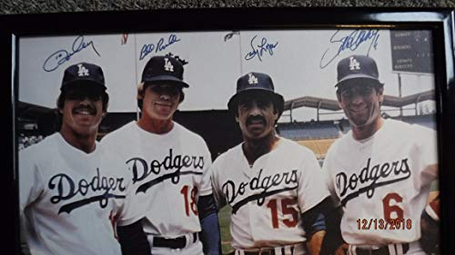 1970's DODGERS Infield Signed (30