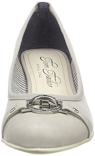 Tailor Tom ice 4892302 Fermé Femme Grau Bout Escarpins axqgPd