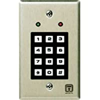 CORBY INDUSTRIES INCORPORATED 7020 KEYPAD 2LED 6-18V
