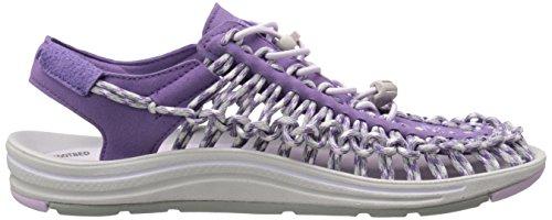 KEEN Damen Uneek 8MM Sandale Purple Heart / Lavendel-Nebel