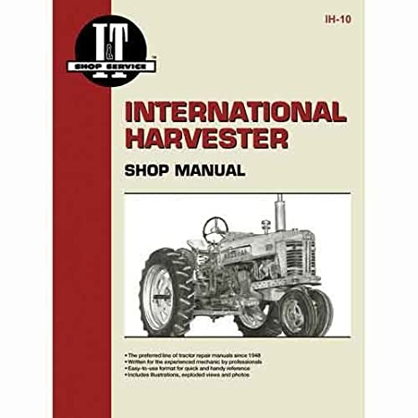 All States Ag Parts I T Shop Manual IH 10