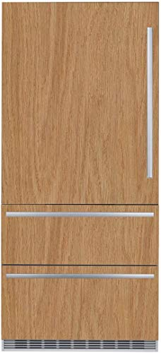 - Liebherr HC2081 36 Inch Counter Depth Bottom Freezer Refrigerator with 19.5 cu. ft. Total Capacity,in Panel Ready