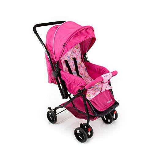Carrinho de Bebê Happy Rosa – Cosco