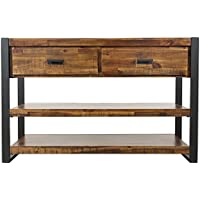 Jofran: 1690-9, Loftworks, Sofa/Media Table, 50W X 18D X 32H, Loftworks Finish, (Set of 1)