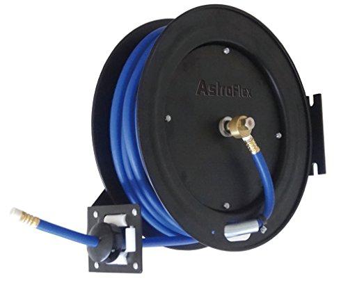 Astro 3695 Astroflex Automatic Rewind Hybrid Hose Reel, 3/8' x 50'