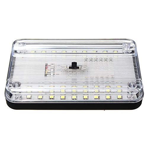 - Gift-4Car - Universal 12V 36 LED Car Truck Auto Van Vehicle Ceiling Dome Indoor Roof Interior Light Lamp White Car Styling