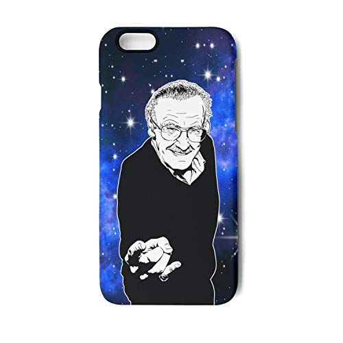 WaveC iPhone 6 iPhone 6s Case Stan-Lee-Poster- Shockproof Protective TPU Back Cover for iPhone 6/6s Plus