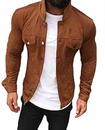 Heng Heng Winter/&Autumn Mens Fashion Brand Hoodies Sweatshirts COLOR :DARK KHAKI | SIZE : L Casual Sports Male Hooded Jackets